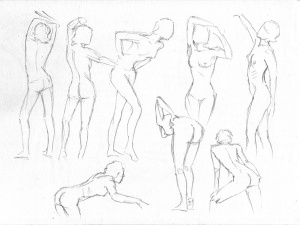 2-minute poses.